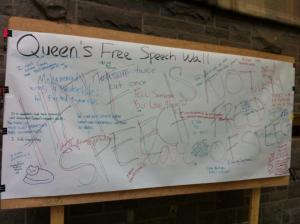 queen's free speech wall5
