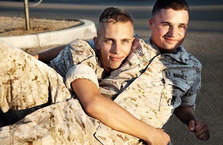 Air force amateur male movies gay joe gets 9