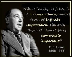If you want a religion to make you feel really comfortable, I certainly don't recommend Christianity. -- C.S. Lewis (1898-1963)