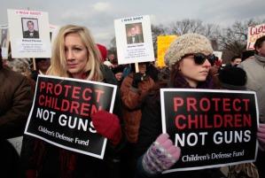 US-POLITICS-GUN CONTROL-DEMO