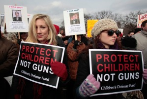 US-POLITICS-GUN CONTROL-DEMO