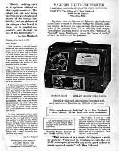 Mathison-Electropsychometer